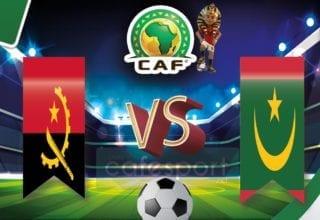 موريتانيا vs انغولا