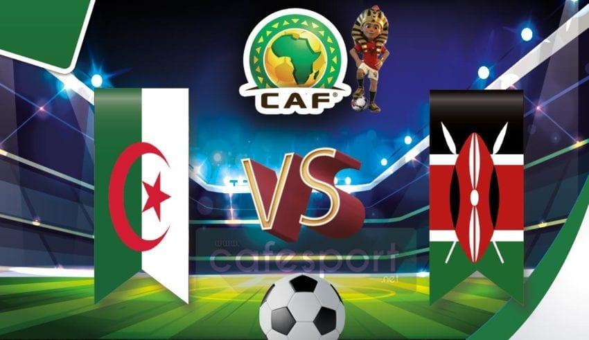 الجزائر vs كينيا