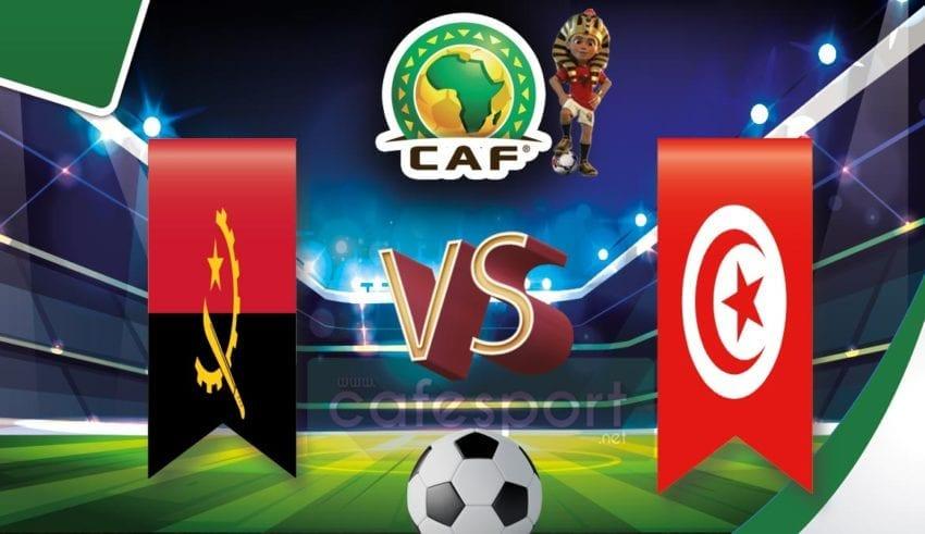 تونس vs انغولا