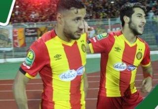 """البلايلي وبونجاح يسجلان ويهزمان منافس المنتخب التونسي في """"الكان"""""""