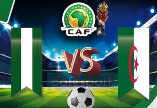 الجزائر vs نيجيريا