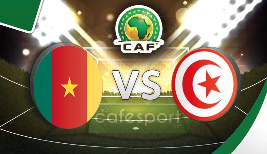 بث مباشر لمباراة تونس - الكاميرون