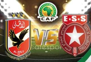 بث مباشر لمباراة النجم الساحلي -الأهلي المصري