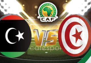 ملخص مباراة تونس - ليبيا