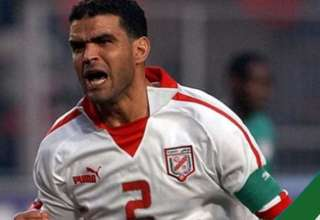 لاعب فريق جوفنتس يقلّد خالد بدرة