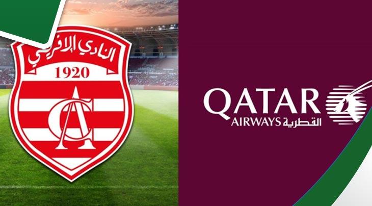 رسميا: النادي الإفريقي يمضي عقد إستشهار مع شركة الخطوط القطرية