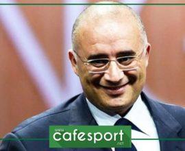 طارق بوشماوي يعلن ترشحة لرئاسة الاتحاد الأفريقي لكرة القدم