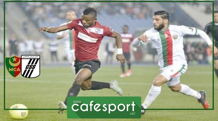 فوضى وتبادل للعنف في نهاية الدربي بين النادي الصفاقسي ومولدية الجزائر