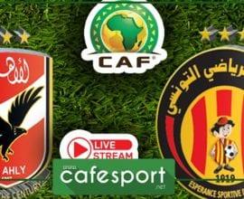 بث مباشر لمباراة الترجي الرياضي - الاهلي المصري