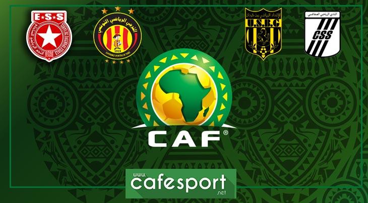 المسابقات الافريقية : هؤلاء هم منافسو الأندية التونسية في الدور الثاني