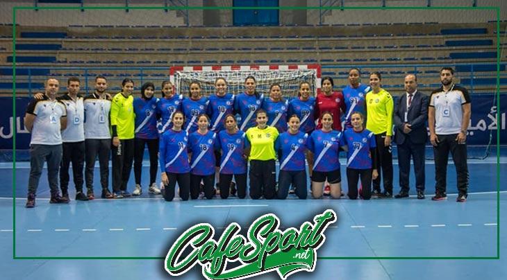 تميّز لحارسة الزهراء وتعادل في قمة تونسية خلال البطولة العربية لكرة اليد